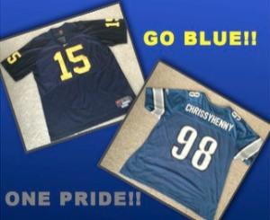 GO BLUE & ONE PRIDE